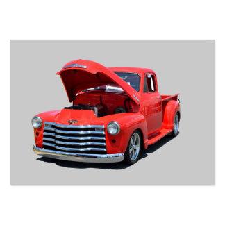 Camioneta pickup clásica de Chevrolet de los años  Tarjeta Personal