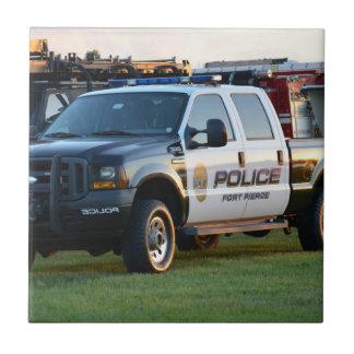 camioneta pickup del Departamento de Policía de Tejas