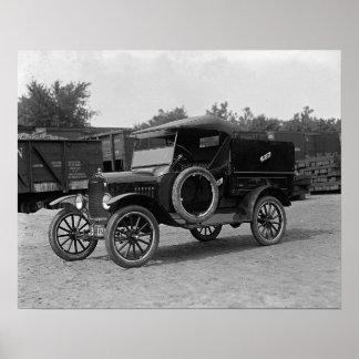 Camioneta pickup modelo de T, 1925. Foto del Póster