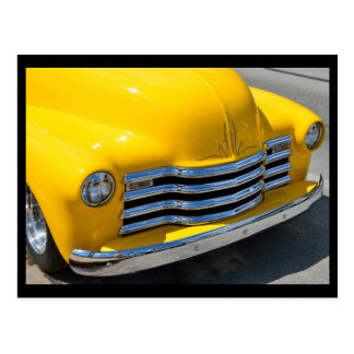 Camioneta pickup modificada para requisitos tarjeta postal