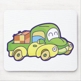 Camioneta pickup verde tapetes de raton
