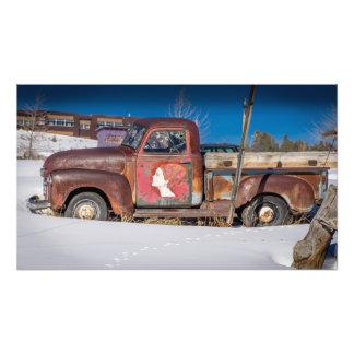 Camioneta pickup vieja Leadville Colorado Cojinete