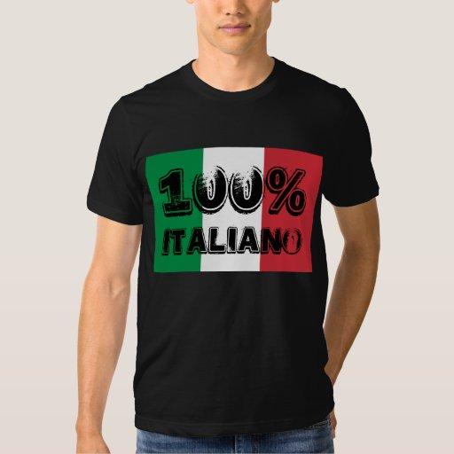 Camisa 100% de Italiano
