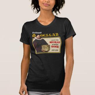 Camisa 1519 del viaje del mundo de Magellan