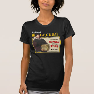 Camisa 1519 del viaje del mundo de Magellan oscur