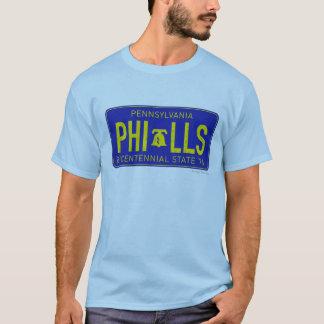 Camisa 1976 de la placa de Pennsylvania