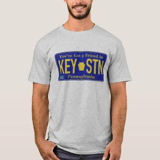 Camisa 1985 de la placa de Pennsylvania