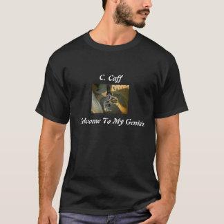 Camisa 1 de la fan del entretenimiento C.Caff del