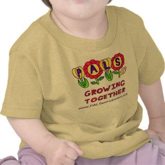 """Camisa 2013 del bebé de los PALS """"que crece junta"""