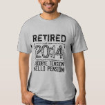 Camisa 2014 del fiesta de retiro para el