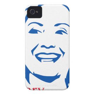 Camisa 2016 de Hillary Clinton el | HIllary para Case-Mate iPhone 4 Cobertura
