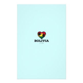 """Camisa 2016 del fútbol de Bolivia Folleto 5.5"""" X 8.5"""""""
