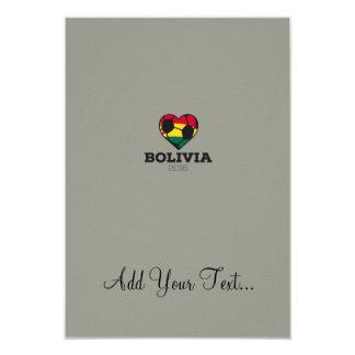 """Camisa 2016 del fútbol de Bolivia Invitación 3.5"""" X 5"""""""