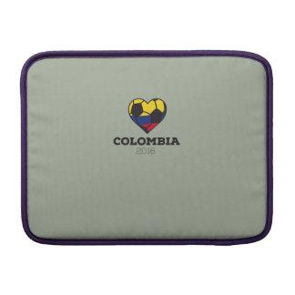 Camisa 2016 del fútbol de Colombia Fundas Macbook Air
