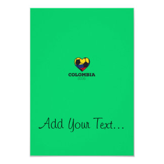 """Camisa 2016 del fútbol de Colombia Invitación 3.5"""" X 5"""""""