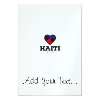 """Camisa 2016 del fútbol de Haití Invitación 3.5"""" X 5"""""""