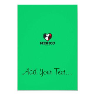 """Camisa 2016 del fútbol de México Invitación 3.5"""" X 5"""""""