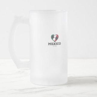 Camisa 2016 del fútbol de México Taza De Cristal