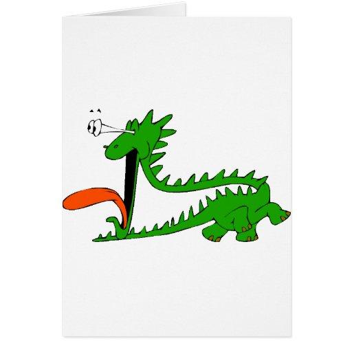 Camisa 25 del dragón tarjeta