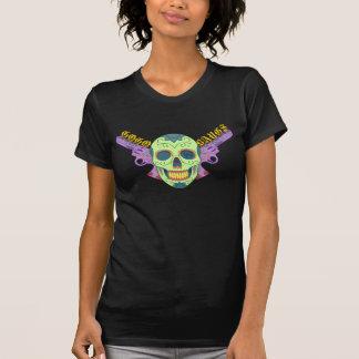 Camisa a todo color de las explosiones GoGo