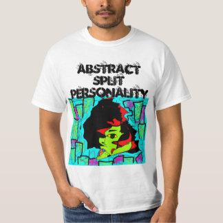 Camisa abstracta de la doble personalidad