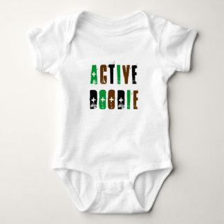 Camisa activa del bebé de Doodie