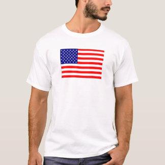 Camisa adaptable de la bandera americana