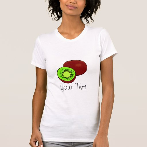 Camisa adaptable del kiwi