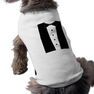 Camisa adorable del smoking del perrito ropa para mascota