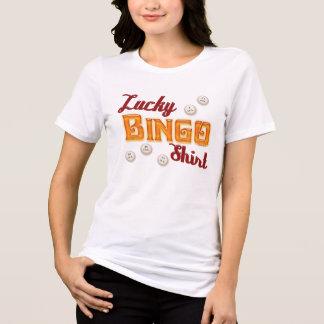 Camisa afortunada del bingo