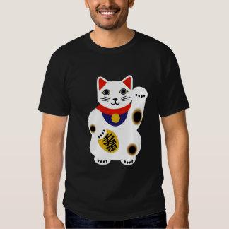 Camisa afortunada del gato - modificada para