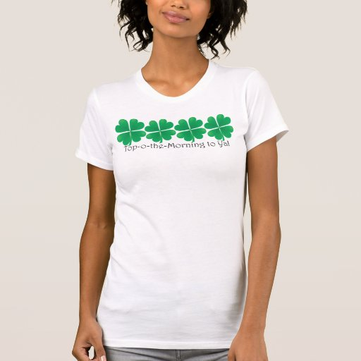 Camisa afortunada para la camisa del día del St. P