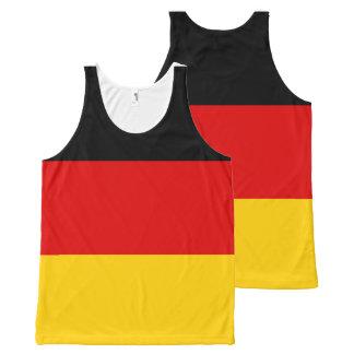 Camisa alemana de la bandera nacional
