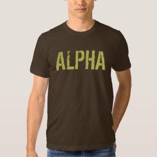 Camisa alfa para los hombres