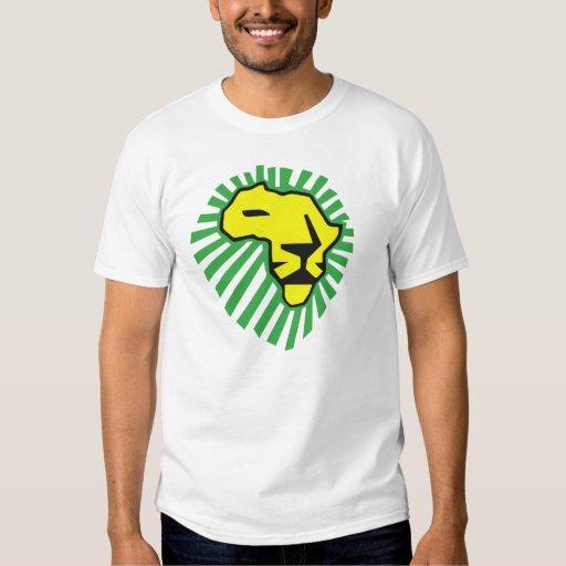 Camisa amarilla de Waka Waka África de la melena