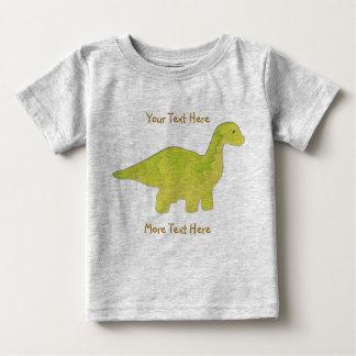 Camisa amarilla del dinosaurio