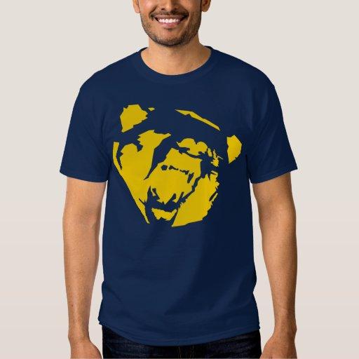 camisa amarilla del oso