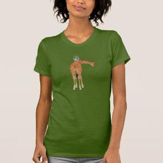 Camisa ambarina de la jirafa y del búho