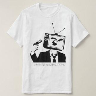 Camisa ambiente de las abstracciones TV