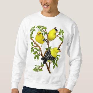 Camisa americana colorida de los Goldfinches