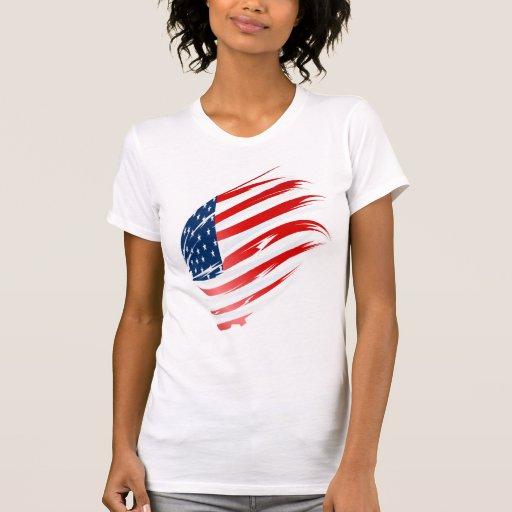 Camisa americana Flag-2