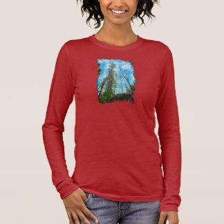 Camisa amistosa del arte del Árbol-Hugger del Día