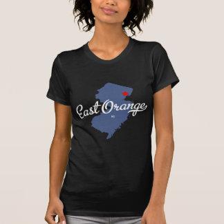 Camisa anaranjada del este de New Jersey NJ