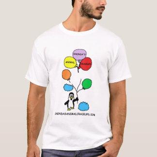 Camisa animal del logotipo de Crackup de Shonda