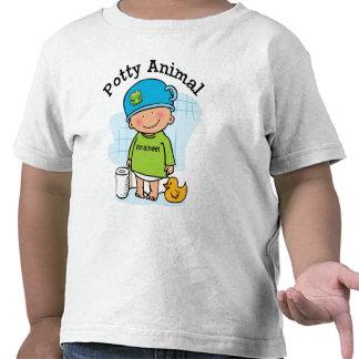 Camisa animal insignificante del muchacho
