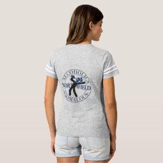 Camisa anómala del fútbol de los alcohólicos de