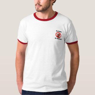Camisa Anti-McCain/Favorable-Bama