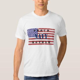 Camisa apenada madre orgullosa de la bandera de la