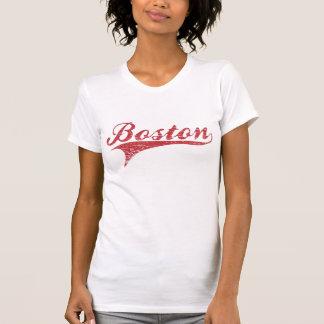 Camisa apenada vintage del estadio de béisbol de
