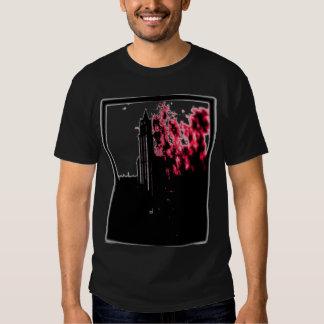 Camisa ardiente de la ciudad